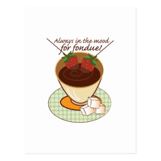 Always in the mood for fondue! post cards