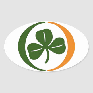 Always Irish Oval Sticker