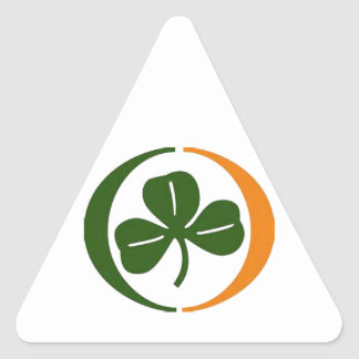 Always Irish Triangle Sticker