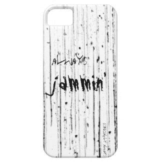 Always jammin grunge rock iPhone case iPhone 5 Cases