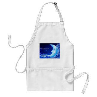 always kiss me good night adult apron