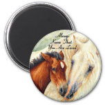 Always Know That You Are Loved - Mare & Foal Fridge Magnet
