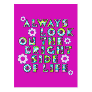 always look on the bright of side life postal