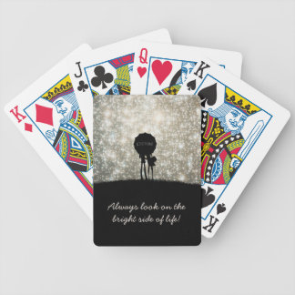 Always look on the bright side of life! bicycle playing cards