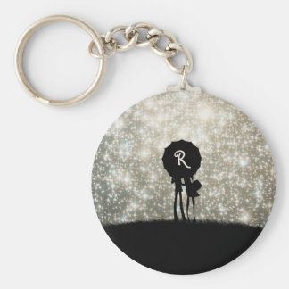 Always look on the bright side of life! keychain