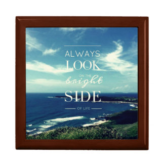 Always Look on the Bright Side of Life / Seascape Jewelry Box