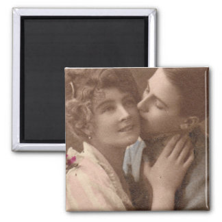 Always Love 2 Inch Square Magnet