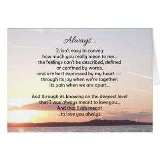 Always...Love Card