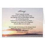 Always...Love Greeting Card