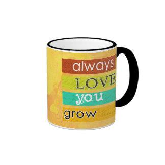 always love you grow mug