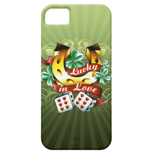 Always Lucky in Love iPhone 5 Case