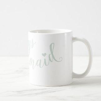 Always Mermaid typography quote design Coffee Mug