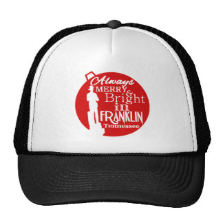 Always Merry and Bright in Franklin TN Hats
