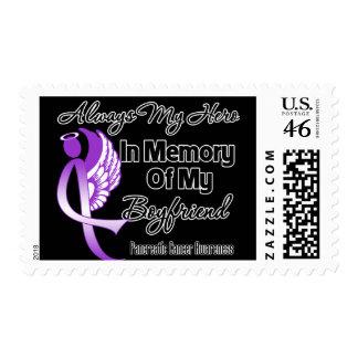 Always My Hero In Memory Boyfriend - Pancreatic Ca Postage Stamp