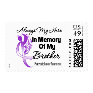 Always My Hero In Memory Brother - Pancreatic Canc Stamps
