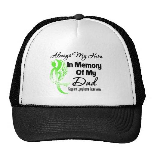 Always My Hero In Memory Dad - Lymphoma Hats