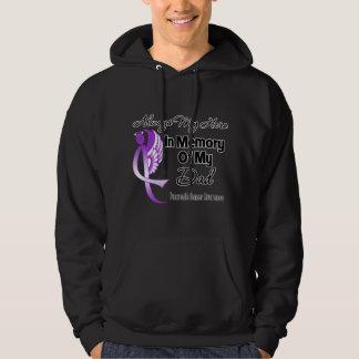 Always My Hero In Memory Dad - Pancreatic Cancer Hoodie