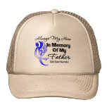 Always My Hero In Memory Father - Colon Cancer Hat