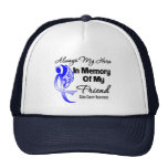 Always My Hero In Memory Friend - Colon Cancer Mesh Hats