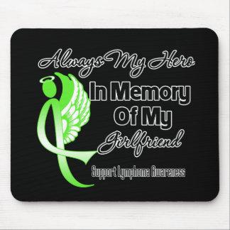 Always My Hero In Memory Girlfriend - Lymphoma Mouse Pads