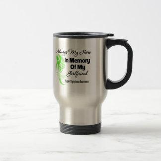 Always My Hero In Memory Girlfriend - Lymphoma Mugs
