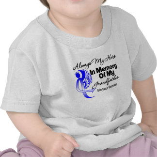 Always My Hero In Memory Grandfather - Colon Cance T-shirt
