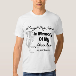 Always My Hero In Memory Grandma - Lung Cancer T Shirt
