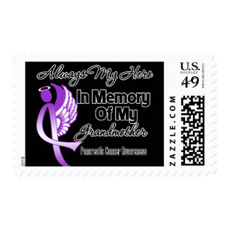 Always My Hero In Memory Grandmother - Pancreatic Postage Stamps