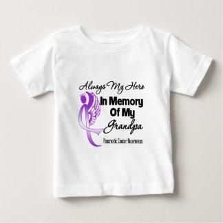 Always My Hero In Memory Grandpa - Pancreatic Canc Tee Shirt