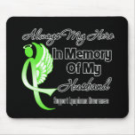 Always My Hero In Memory Husband - Lymphoma Mouse Pad
