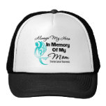 Always My Hero In Memory Mom - Ovarian Cancer Hats