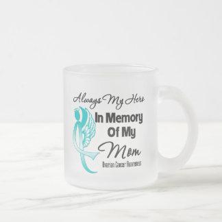 Always My Hero In Memory Mom - Ovarian Cancer Mug