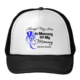 Always My Hero In Memory Mommy - Colon Cancer Mesh Hats
