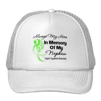 Always My Hero In Memory Nephew - Lymphoma Hat