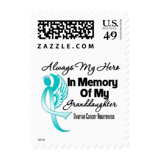 Always My Hero Memory Granddaughter Ovarian Cancer Postage