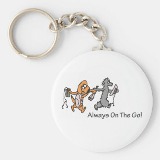 Always On The Go! Keychain