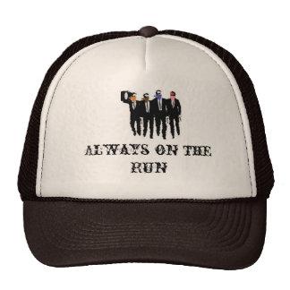 always on the run, Always on the Run Trucker Hat