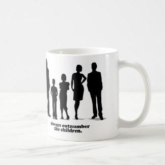 Always Outnumber the Children Coffee Mug