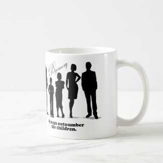 Always Outnumber the Children - Polyamory Classic White Coffee Mug