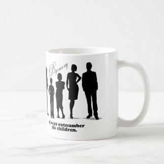 Always Outnumber the Children - Polyamory Coffee Mug