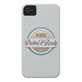 Always Packed and Ready iPhone 4 Case-Mate Cases
