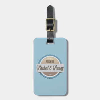 Always Packed and Ready Travel Bag Tags