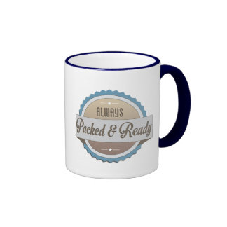 Always Packed and Ready Ringer Coffee Mug