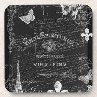 Always Paris Collage Coasters