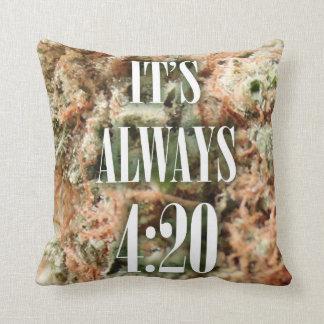 Always pillow bud/white
