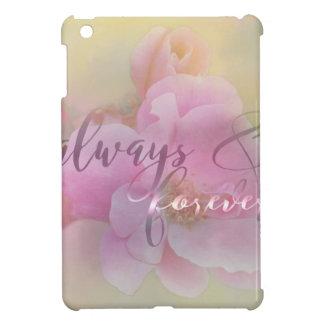Always pink rose.jpg iPad mini cases