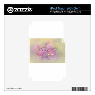 Always pink rose.jpg iPod touch 4G skin