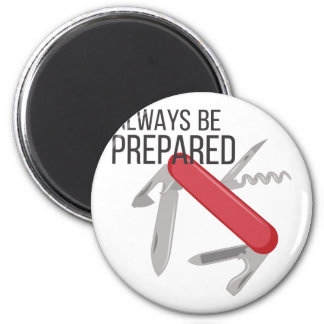 Always Prepared Magnet
