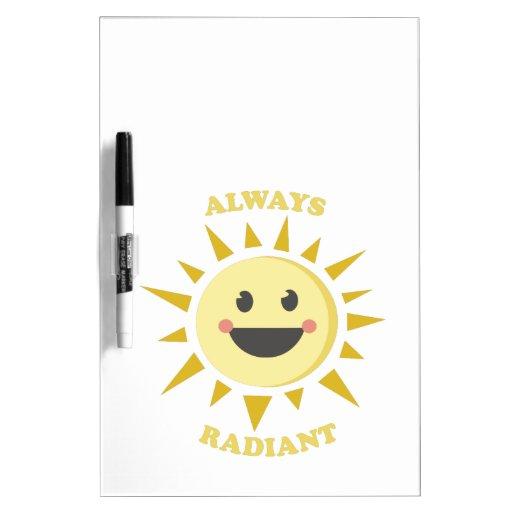 Always Radiant Dry-Erase Board