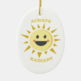 Always Radiant Christmas Ornament